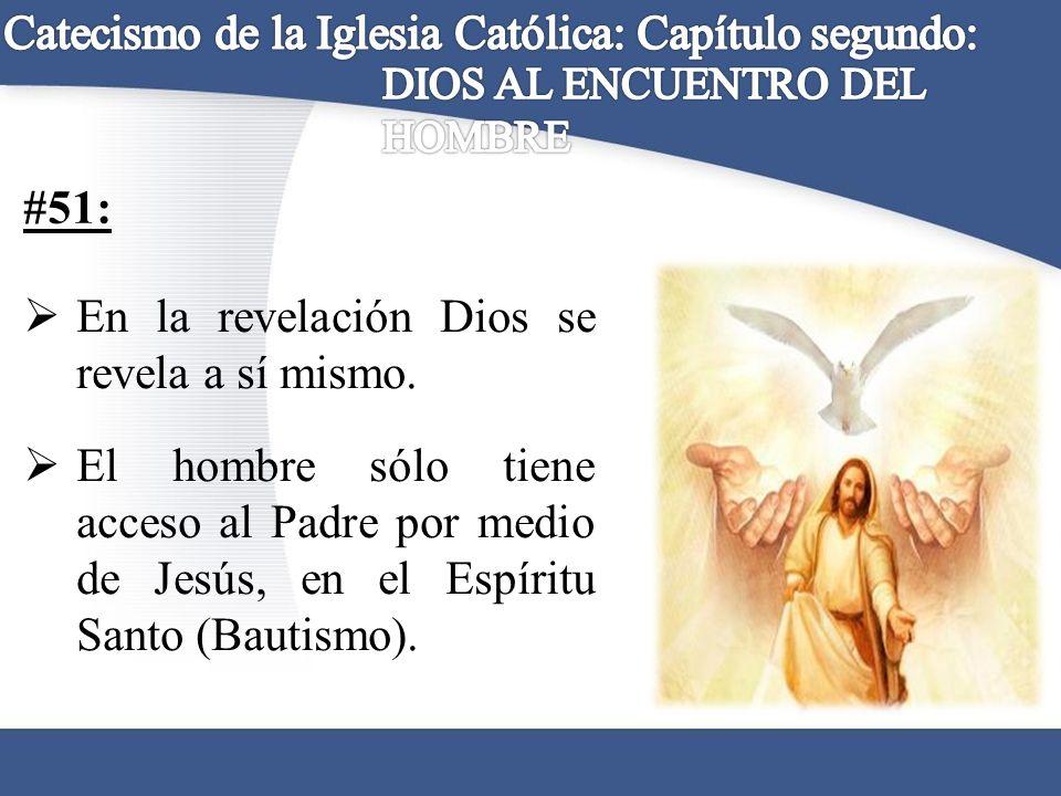 Catecismo de la Iglesia Católica: Capítulo segundo: