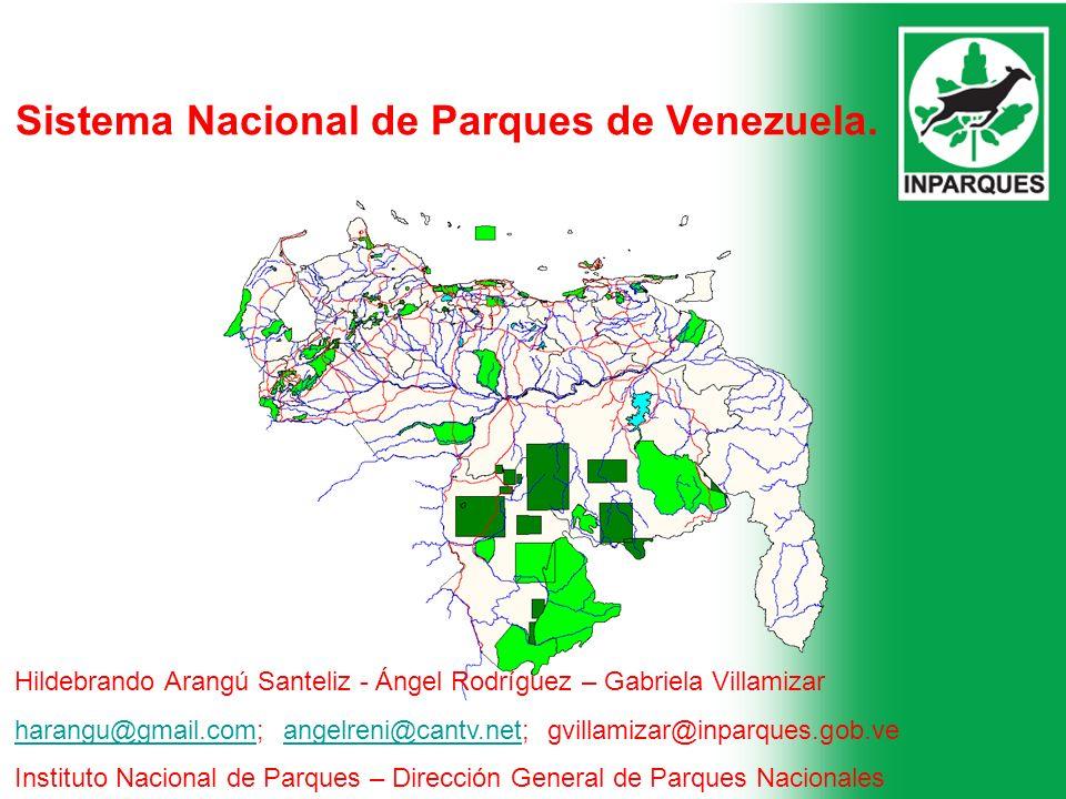 Sistema Nacional de Parques de Venezuela.