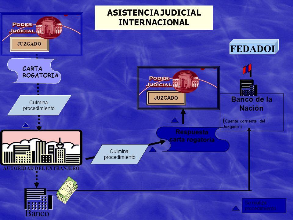 ASISTENCIA JUDICIAL INTERNACIONAL
