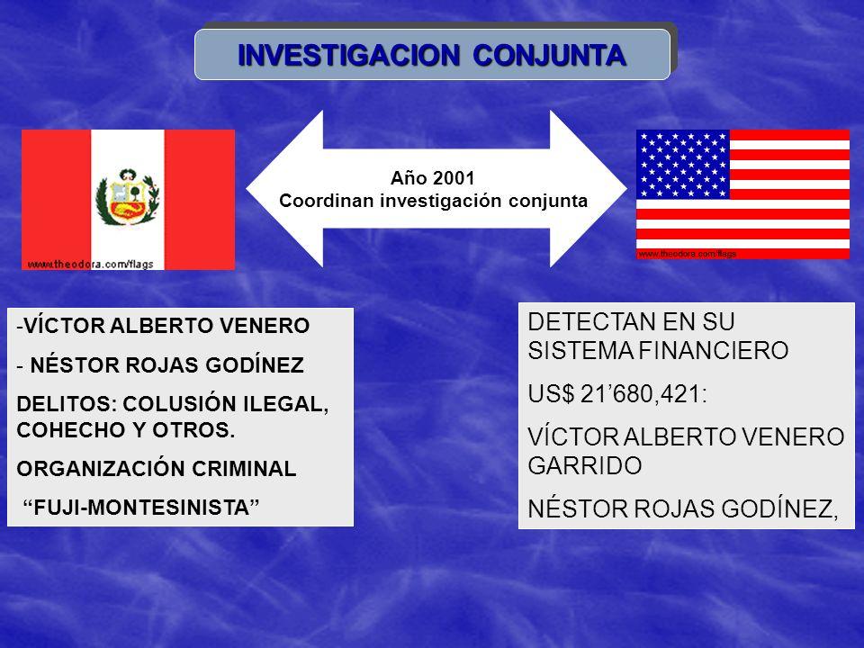 INVESTIGACION CONJUNTA Coordinan investigación conjunta