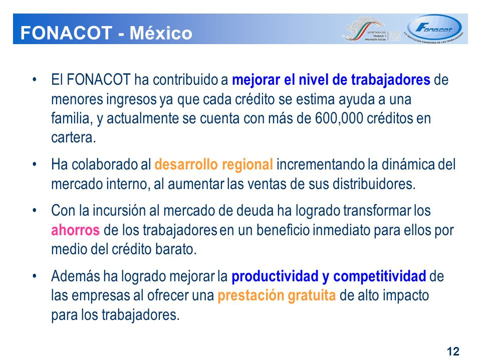 FONACOT - México