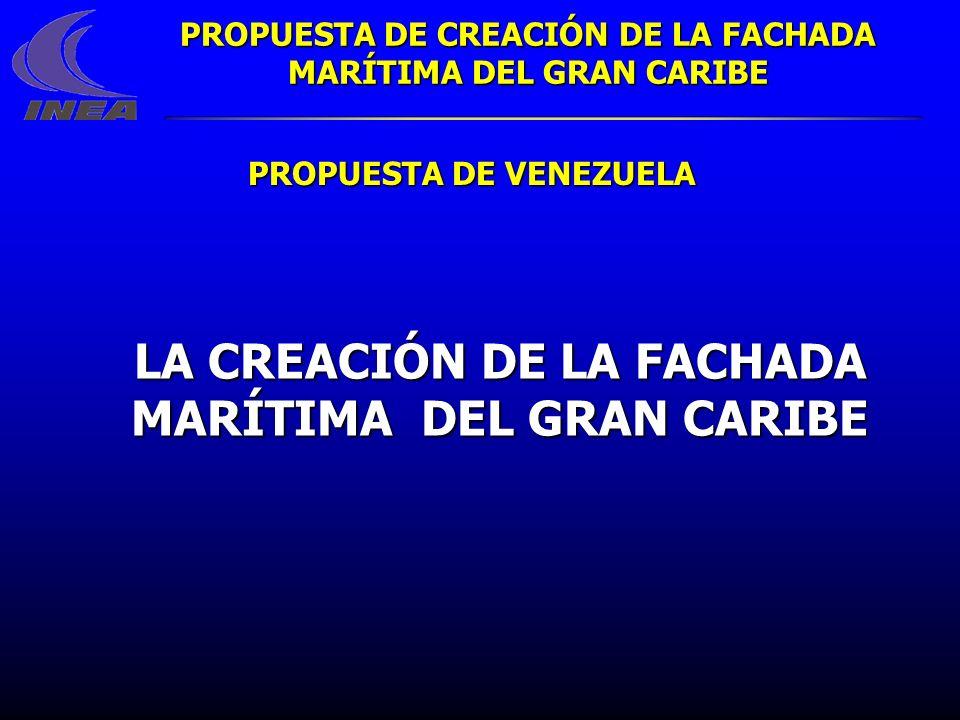 LA CREACIÓN DE LA FACHADA MARÍTIMA DEL GRAN CARIBE