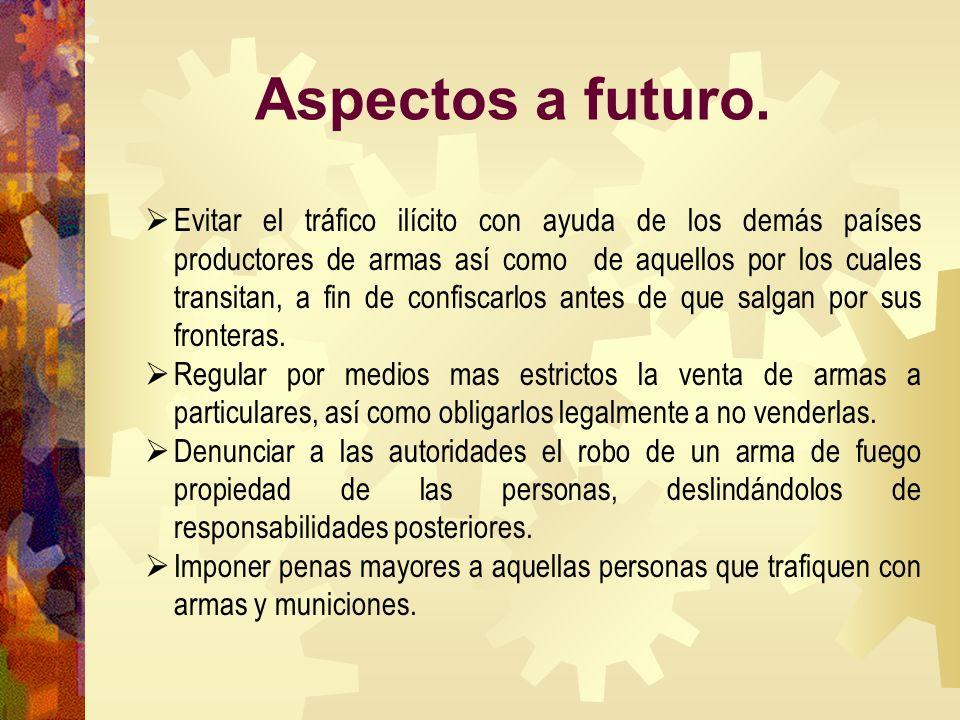 Aspectos a futuro.