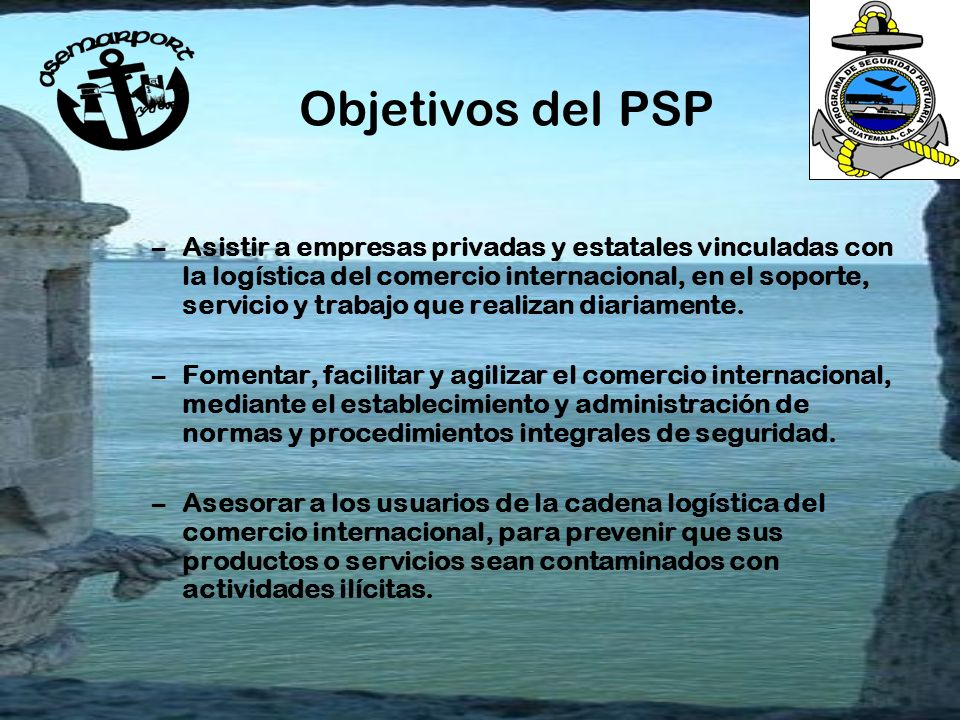 Objetivos del PSP