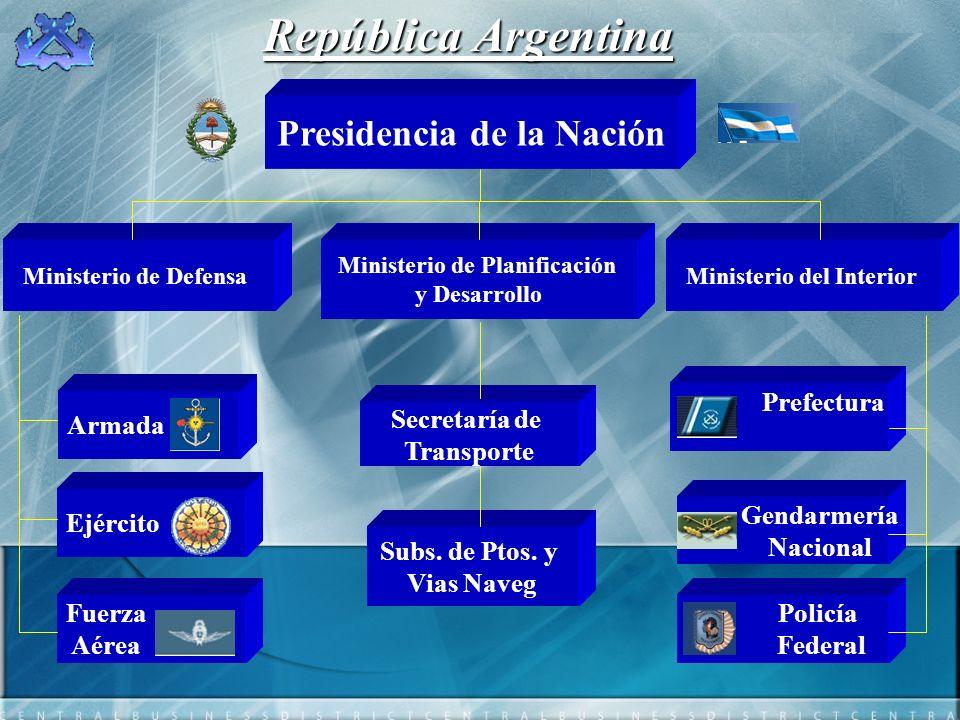 República Argentina Presidencia de la Nación Prefectura Armada