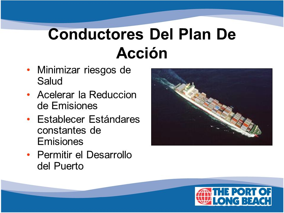 Conductores Del Plan De Acción