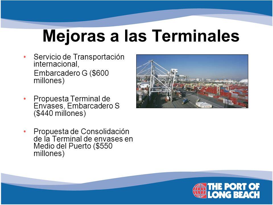 Mejoras a las Terminales