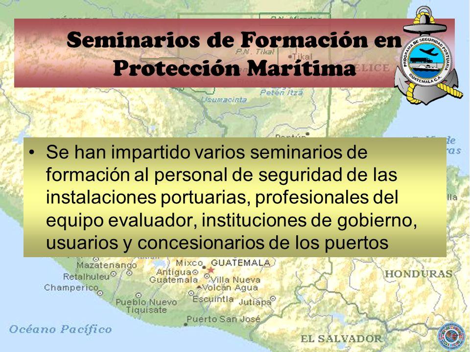 Seminarios de Formación en Protección Marítima