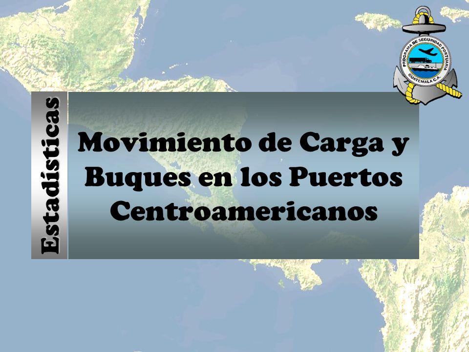 Movimiento de Carga y Buques en los Puertos Centroamericanos