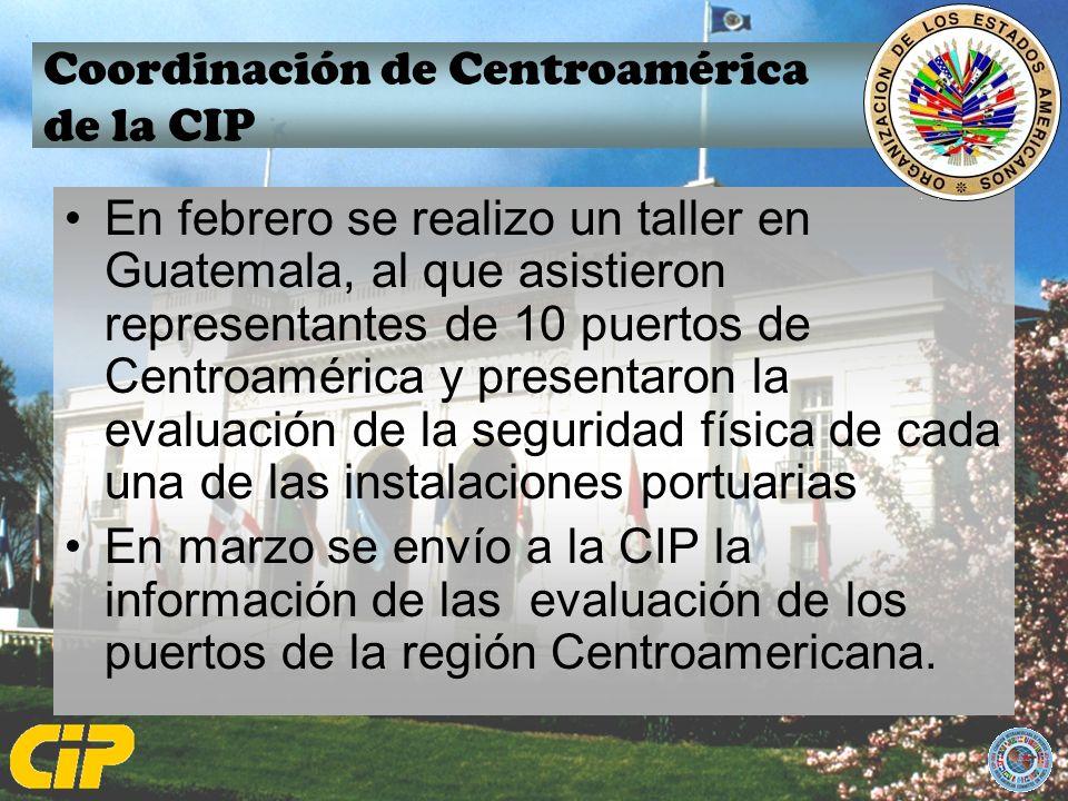 Coordinación de Centroamérica de la CIP