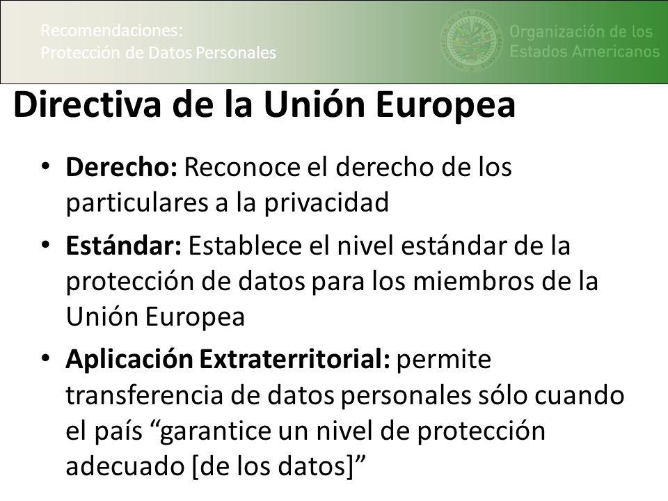 Directiva de la Unión Europea