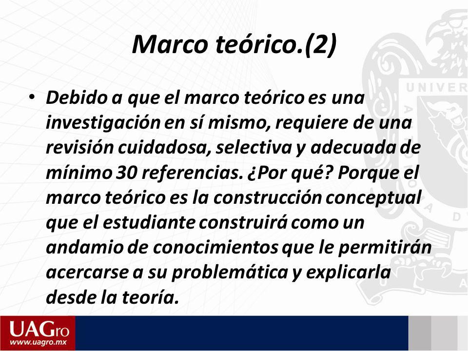 Marco teórico.(2)