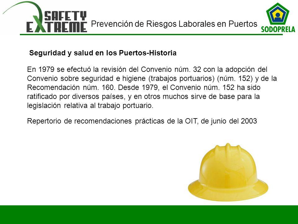 Seguridad y salud en los Puertos-Historia