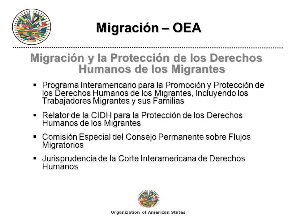 Migración y la Protección de los Derechos Humanos de los Migrantes