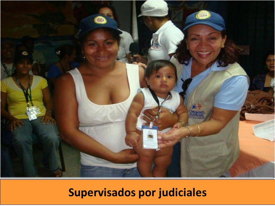 Supervisados por judiciales