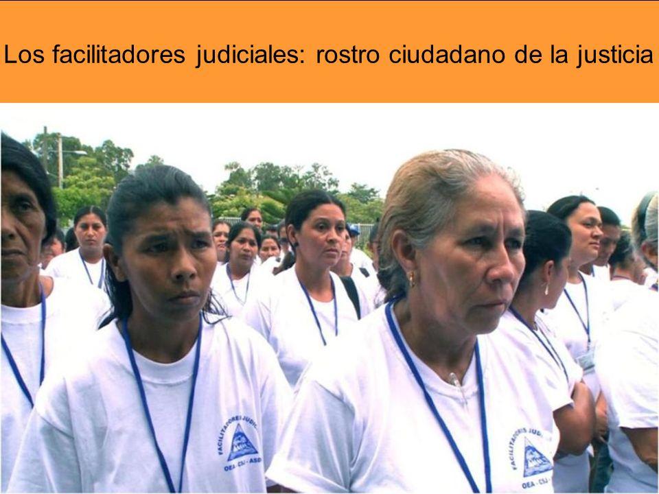 Los facilitadores judiciales: rostro ciudadano de la justicia