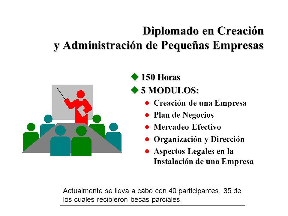 Diplomado en Creación y Administración de Pequeñas Empresas