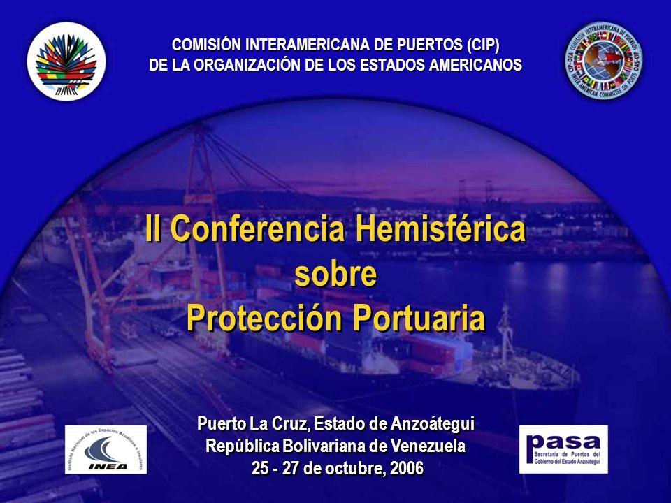 II Conferencia Hemisférica sobre Protección Portuaria