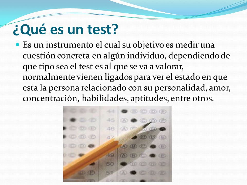Un essay test