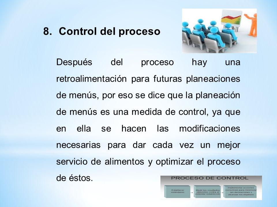 Control del proceso