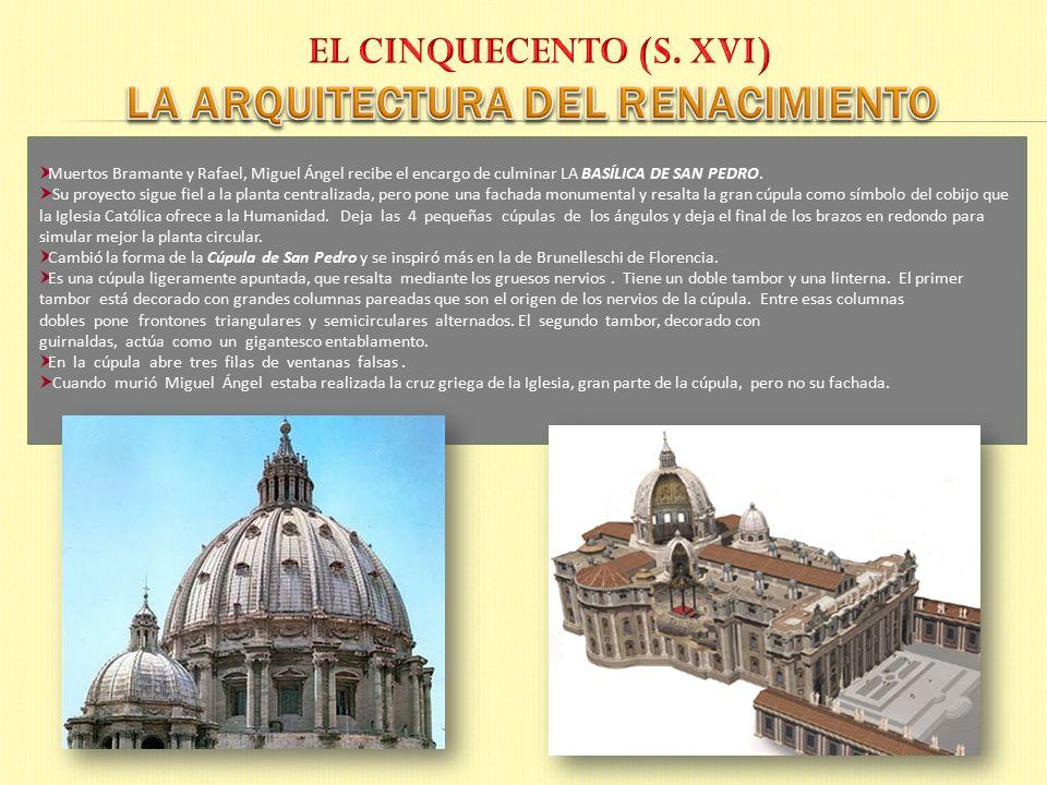 La arquitectura en italia el arte del renacimiento ppt - Arquitectura miguel angel ...