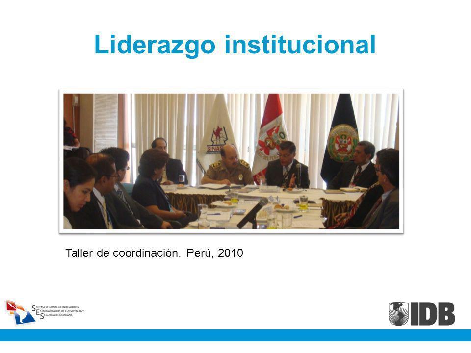 Liderazgo institucional