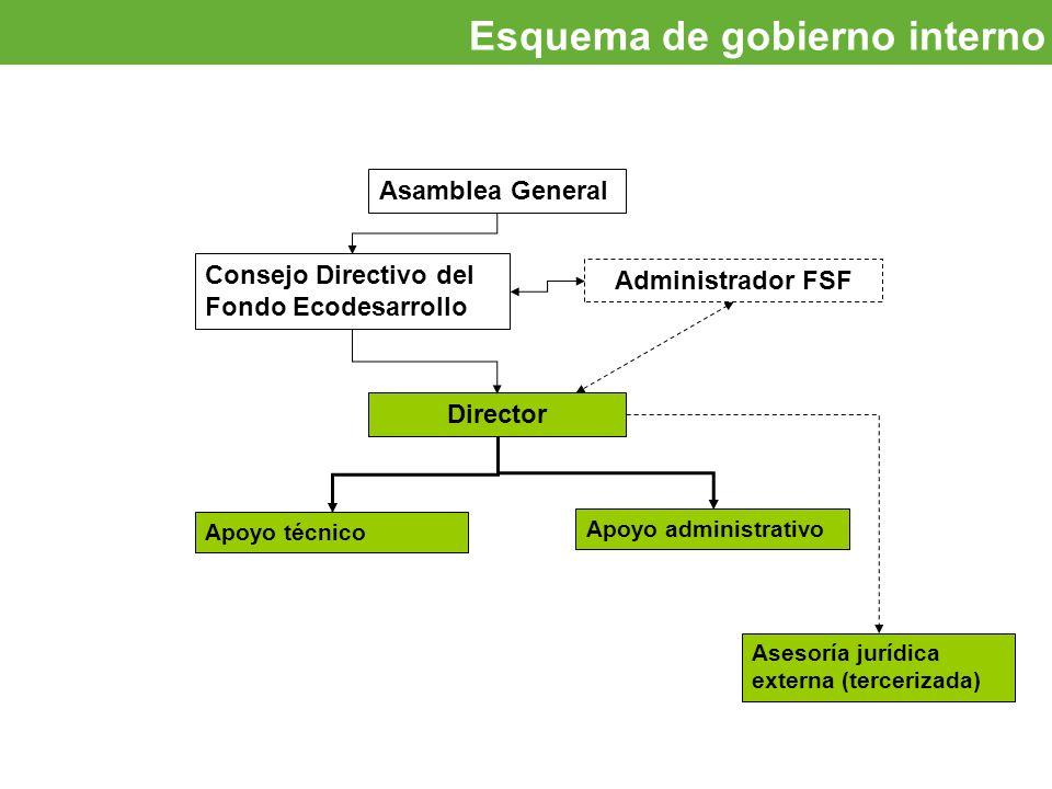 Esquema de gobierno interno