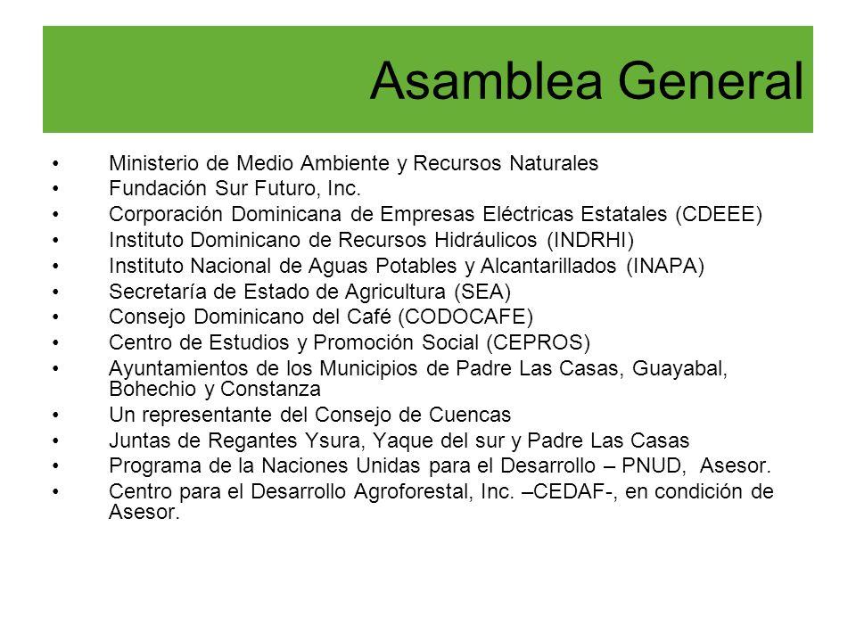 Asamblea General Ministerio de Medio Ambiente y Recursos Naturales