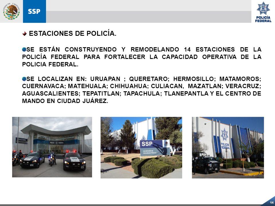 ESTACIONES DE POLICÍA.