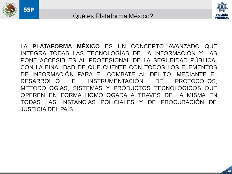 Qué es Plataforma México