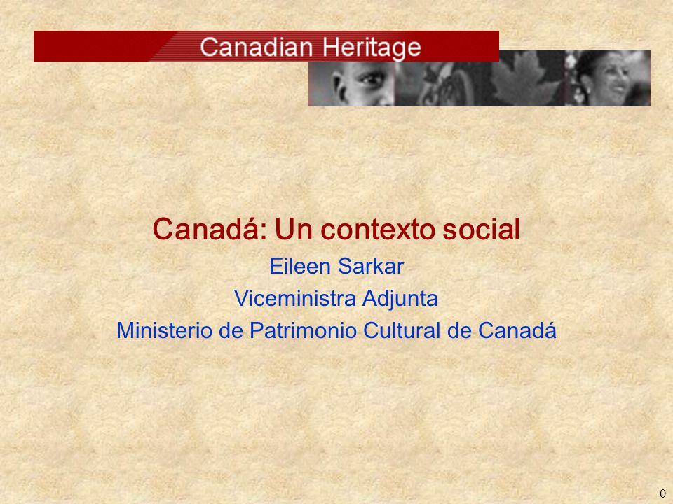 Canadá: Un contexto social