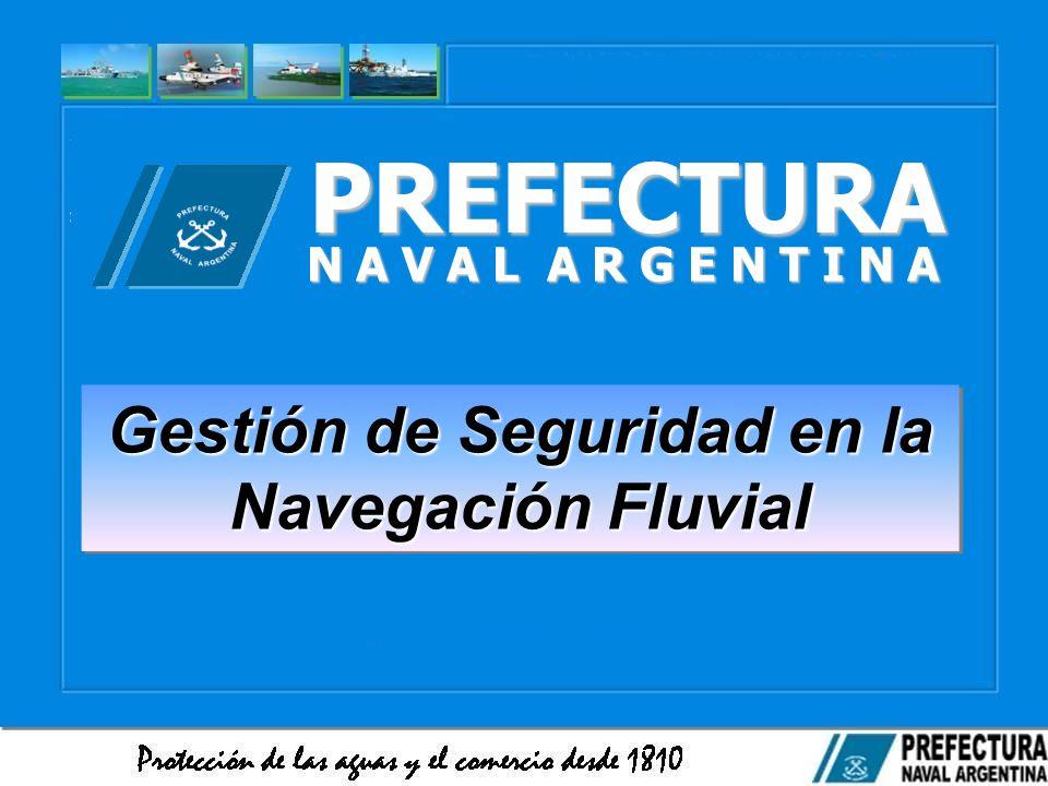 Gestión de Seguridad en la Navegación Fluvial
