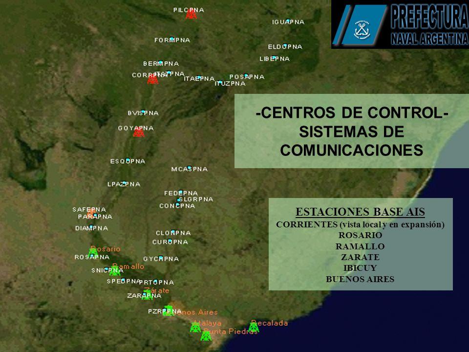 -CENTROS DE CONTROL- SISTEMAS DE COMUNICACIONES