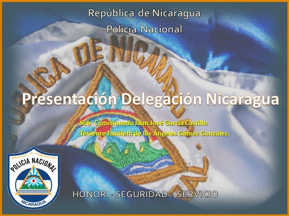 Presentación Delegación Nicaragua