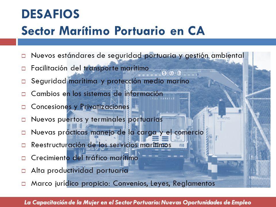 DESAFIOS Sector Marítimo Portuario en CA
