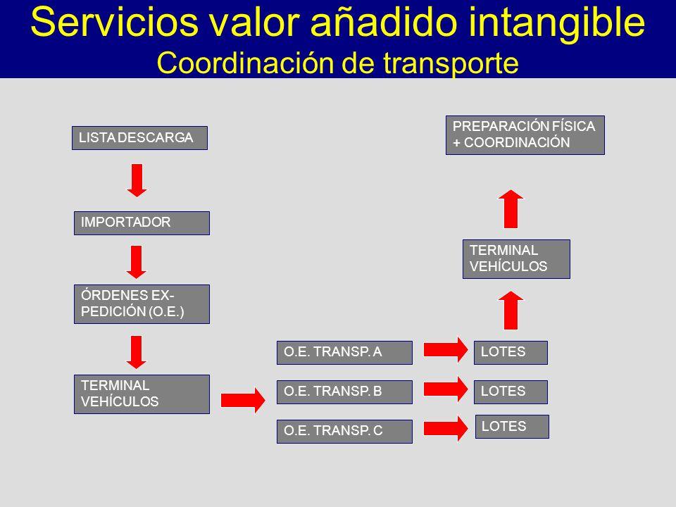 Servicios valor añadido intangible
