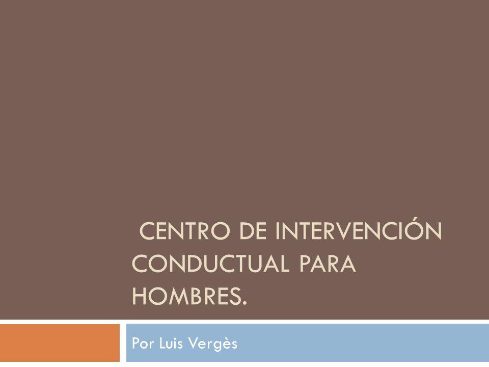Centro de Intervención Conductual para Hombres.