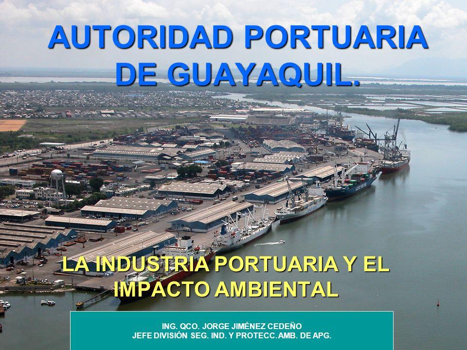 AUTORIDAD PORTUARIA DE GUAYAQUIL.