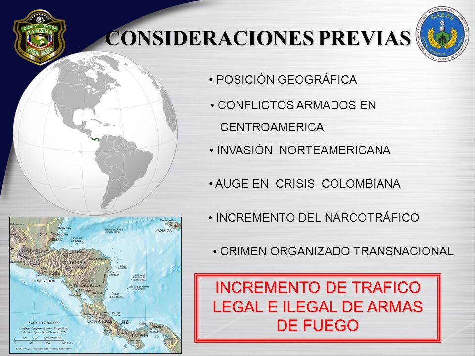 INCREMENTO DE TRAFICO LEGAL E ILEGAL DE ARMAS DE FUEGO