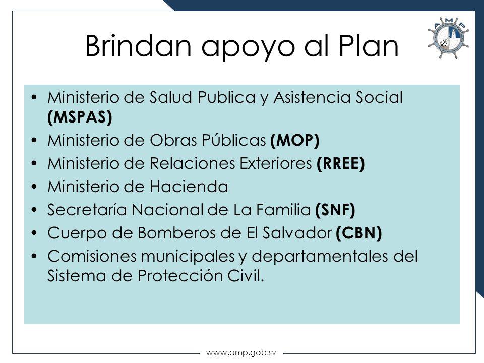 Brindan apoyo al Plan Ministerio de Salud Publica y Asistencia Social (MSPAS) Ministerio de Obras Públicas (MOP)