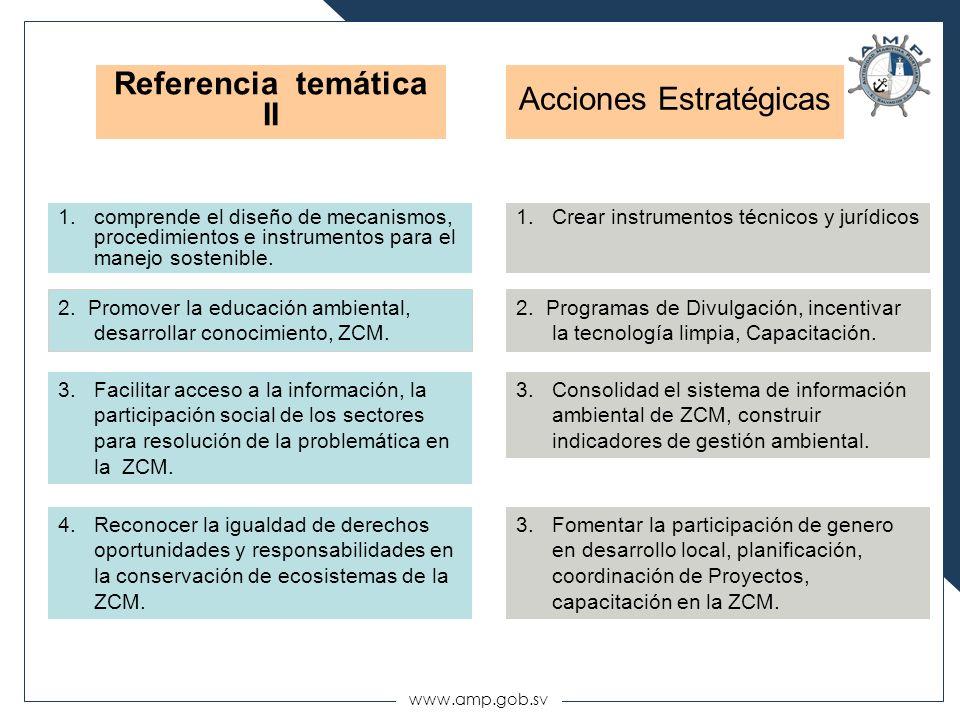 Referencia temática II