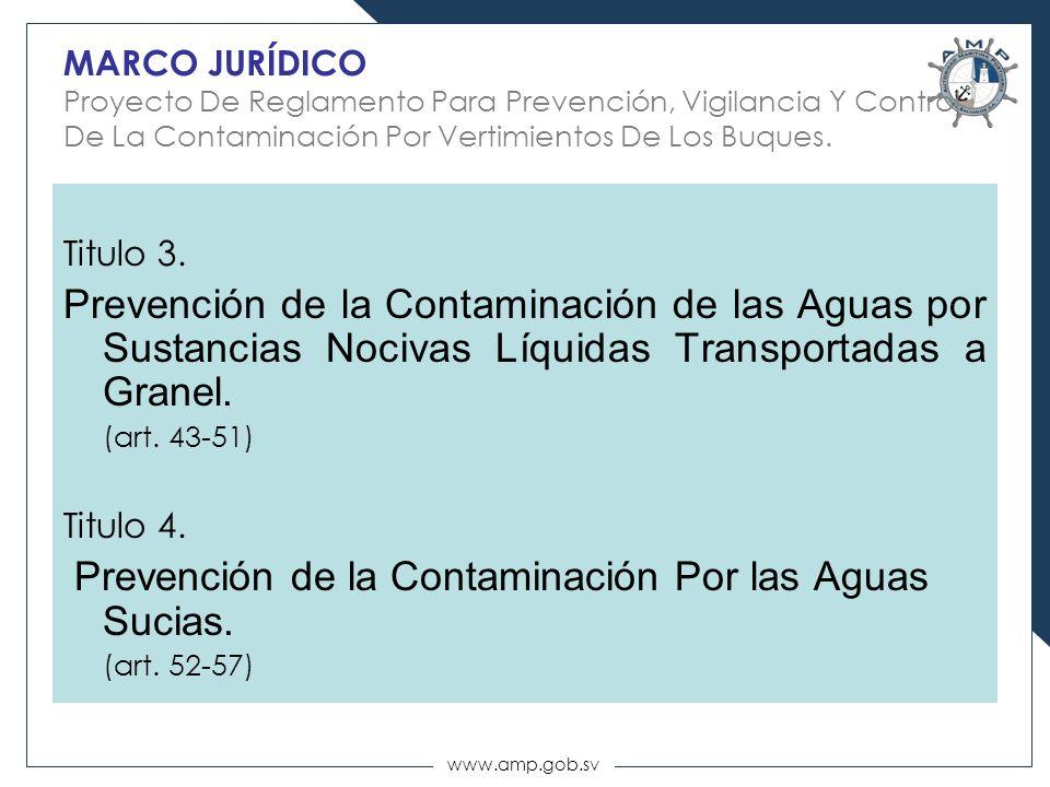 Prevención de la Contaminación Por las Aguas Sucias.