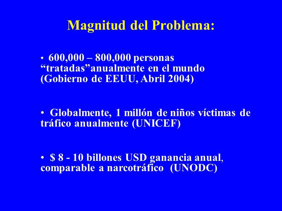 Magnitud del Problema: