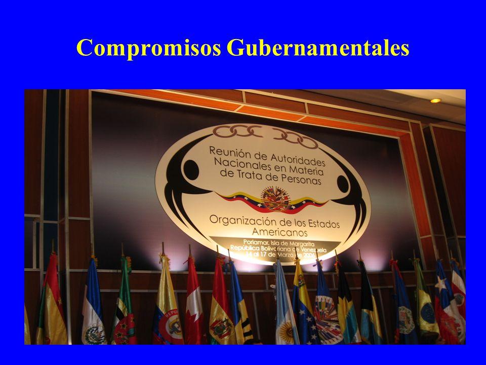 Compromisos Gubernamentales