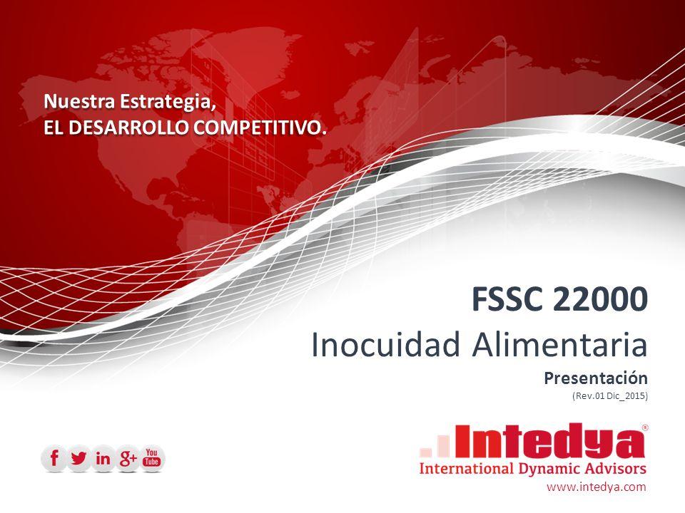 SGI FSSC 22000 Inocuidad Alimentaria ISO 14001:2004 OHSAS 18001:2007