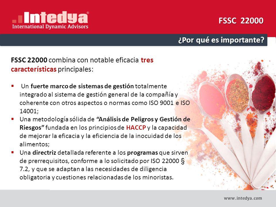 FSSC 22000 ¿Por qué es importante