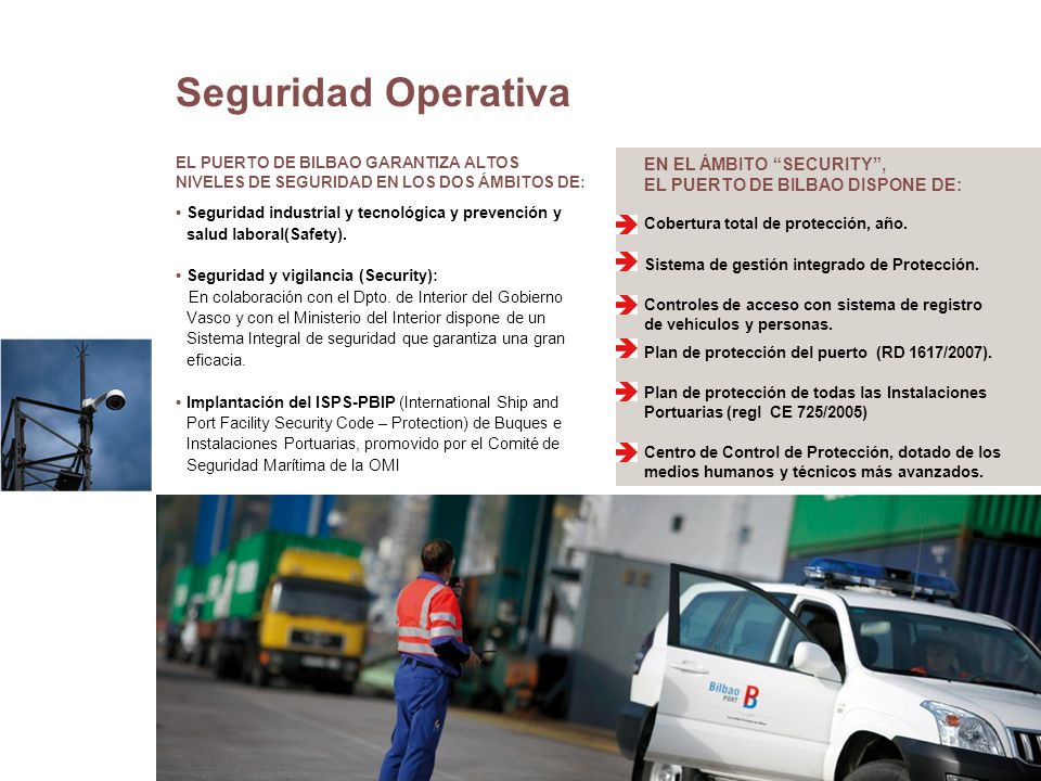 Seguridad Operativa EN EL ÁMBITO SECURITY ,