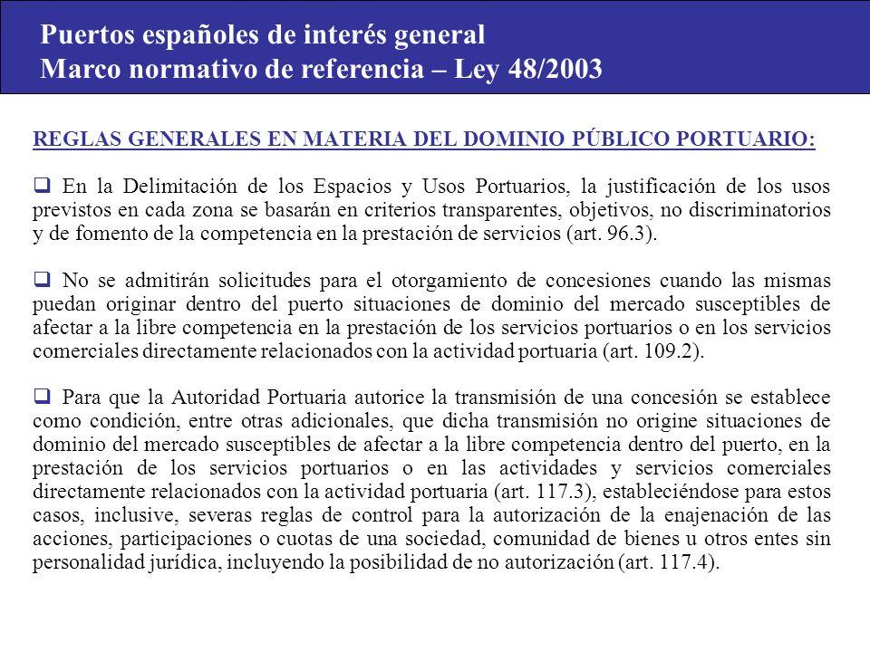 Puertos españoles de interés general
