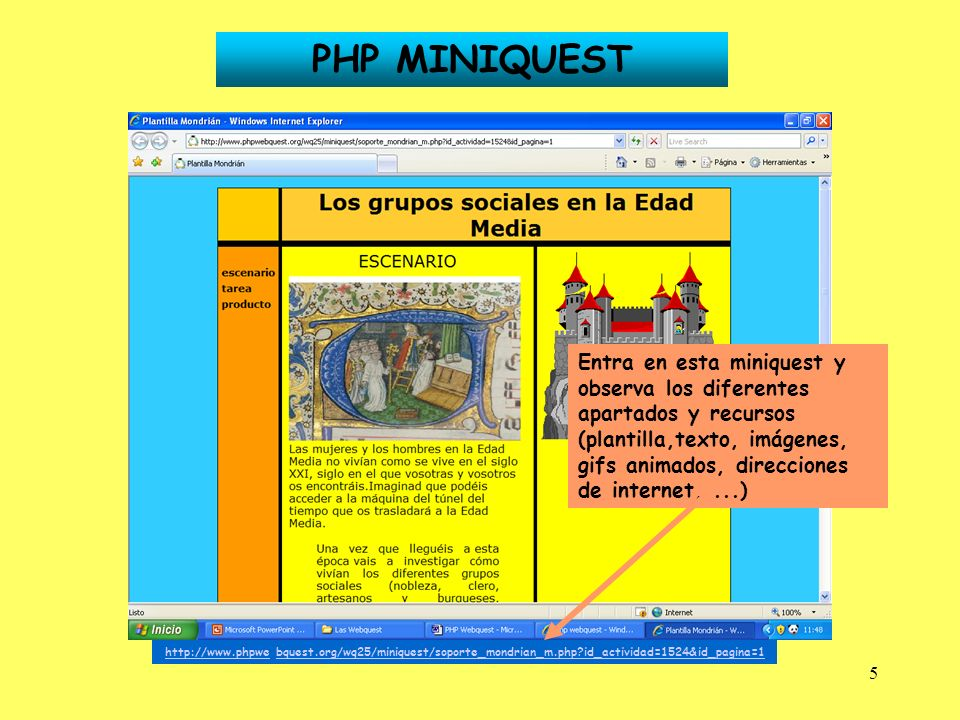 PHP MINIQUEST