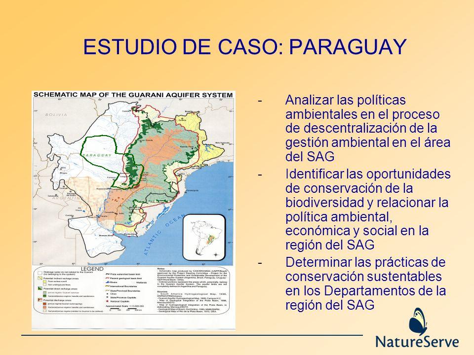 ESTUDIO DE CASO: PARAGUAY